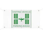 Visiting Vehicle Banner