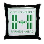 Visiting Vehicle Throw Pillow