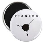 Pioneer Space Probe Magnet