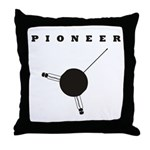 Pioneer Space Probe Throw Pillow