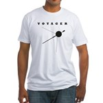 Voyager Space Probe Fitted T-Shirt
