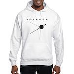 Voyager Space Probe Hooded Sweatshirt