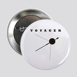 """Voyager Space Probe 2.25"""" Button"""