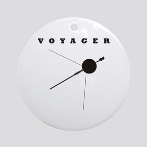 Voyager Space Probe Ornament (Round)