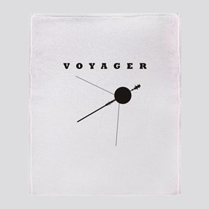 Voyager Space Probe Throw Blanket