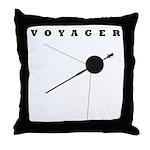 Voyager Space Probe Throw Pillow