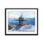 USS HENRY CLAY Framed Panel Print