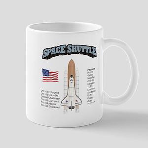 Space Shuttle History Mug
