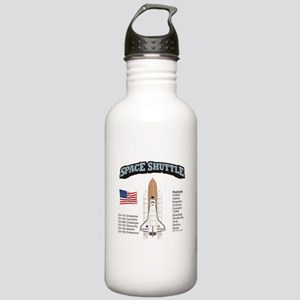Space Shuttle History Stainless Water Bottle 1.0L