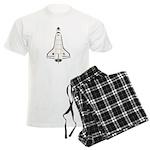 Shuttle Atlantis Men's Light Pajamas