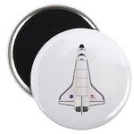 Shuttle Atlantis Magnet