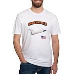 Shuttle Orbiter Fitted T-Shirt