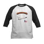 Shuttle Orbiter Kids Baseball Jersey