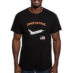 Shuttle Orbiter Men's Fitted T-Shirt (dark)