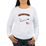 Shuttle Orbiter Women's Long Sleeve T-Shirt