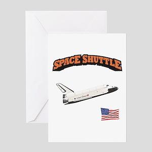 Shuttle Orbiter Greeting Card