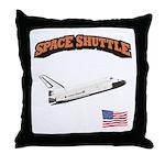 Shuttle Orbiter Throw Pillow