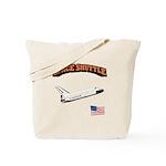 Shuttle Orbiter Tote Bag