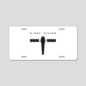 X-Ray Observatory Aluminum License Plate