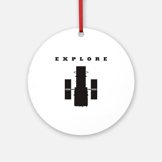 Space Telescope Ornament (Round)