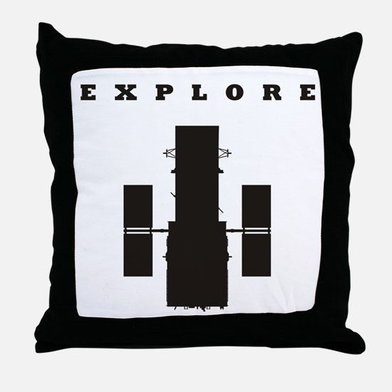 Space Telescope Throw Pillow
