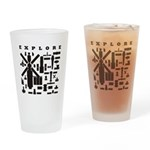 Space Telescopes Drinking Glass