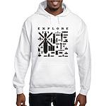 Space Telescopes Hooded Sweatshirt