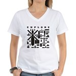 Space Telescopes Women's V-Neck T-Shirt