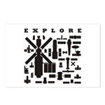 Space Telescopes Postcards (Package of 8)