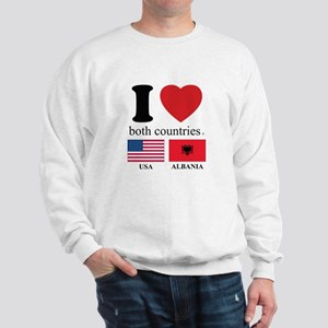 USA-ALBANIA Sweatshirt