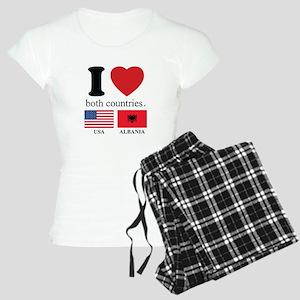 USA-ALBANIA Women's Light Pajamas