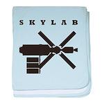 Skylab Silhouette baby blanket