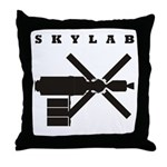 Skylab Silhouette Throw Pillow