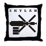 Skylab Silhouette Throw Pillow