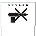 Skylab Silhouette Yard Sign