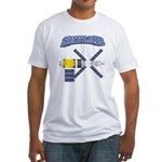 Skylab Space Station Fitted T-Shirt