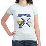 Skylab Space Station Jr. Ringer T-Shirt