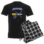 Skylab Space Station Men's Dark Pajamas