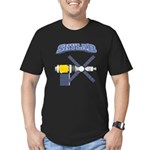 Skylab Space Station Men's Fitted T-Shirt (dark)