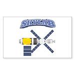 Skylab Space Station Sticker (Rectangle 50 pk)