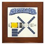 Skylab Space Station Framed Tile
