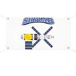 Skylab Space Station Banner