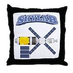Skylab Space Station Throw Pillow