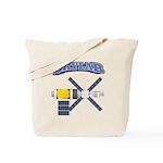 Skylab Space Station Tote Bag