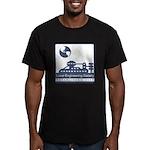 Lunar Engineering Men's Fitted T-Shirt (dark)