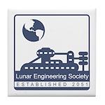 Lunar Engineering Tile Coaster