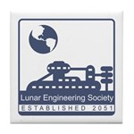 Lunar Engineering Tile Coaster