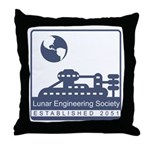 Lunar Engineering Throw Pillow