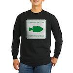 CM Parking Long Sleeve Dark T-Shirt