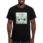 LRV Parking Men's Fitted T-Shirt (dark)